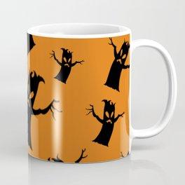 Spooky Tree Pattern Coffee Mug