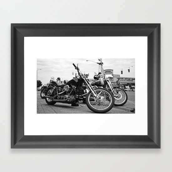 South Tacoma choppers Framed Art Print