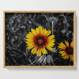 Flower Serving Tray