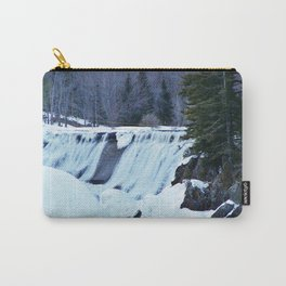 Waterfalls in Winter Carry-All Pouch