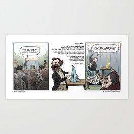 VAT MOUZEPEEZ IZZAT? Art Print