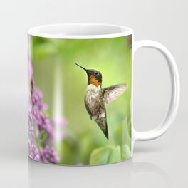 Hummingbirds Welcome Coffee Mug