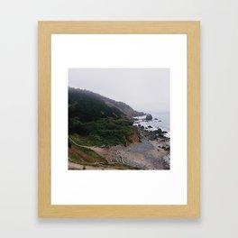Lands Ends Framed Art Print