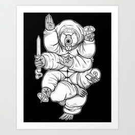 Lord Tardigrade Art Print