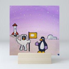 The Chicken Space Program: Part 3 Mini Art Print