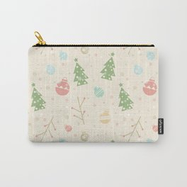 Simple christmas vector pattern Carry-All Pouch