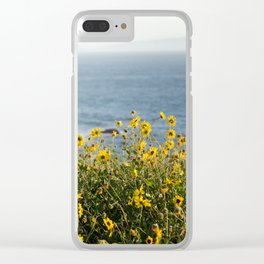 California Summer Clear iPhone Case
