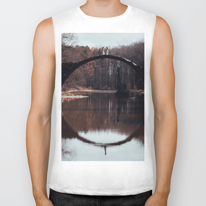 What you see is not what it seems Biker Tank