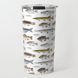 A Few Freshwater Fish Travel Mug