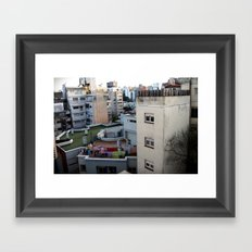 Urban Landscape 01 Framed Art Print