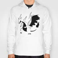 charizard Hoodies featuring Charizard Mega Y by Ruo7in