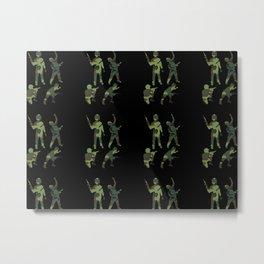 Toy Soldiers Metal Print