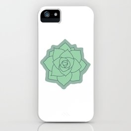 Succulent Illustration iPhone Case
