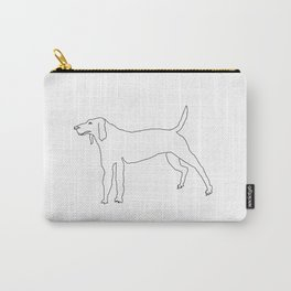 Beagle (Black) Carry-All Pouch