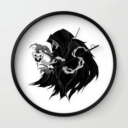Inktober Poison Apple Wall Clock