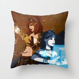 Steam/Cyber Punk Throw Pillow