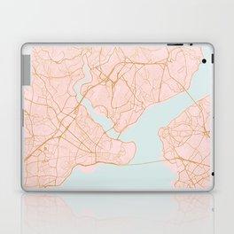 Istanbul map, Turkey Laptop & iPad Skin