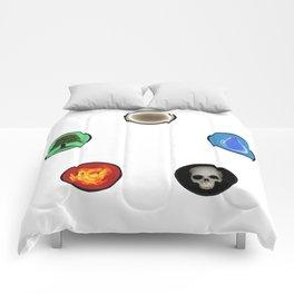 Realistic MTG Symbols Comforters