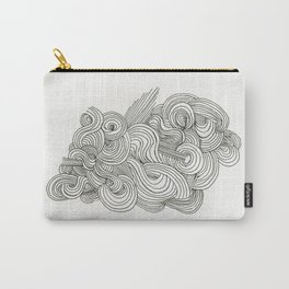 Doodle Cloud Carry-All Pouch