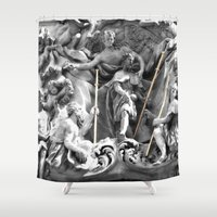 angels Shower Curtains featuring Angels by Photographicleigh