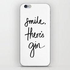 Smile - Gin iPhone & iPod Skin