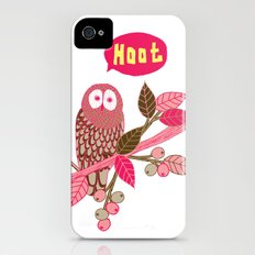 Hoot Slim Case iPhone (4, 4s)