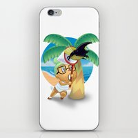 hercules iPhone & iPod Skins featuring Hercules Beetle by Chrissi H