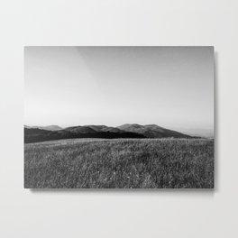 Mountain line Metal Print
