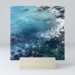 Tropical Paradise Pacific Ocean Cove Mini Art Print