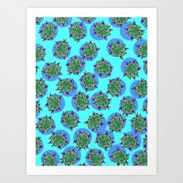 GermFlower Wallpaper (Chills) Art Print