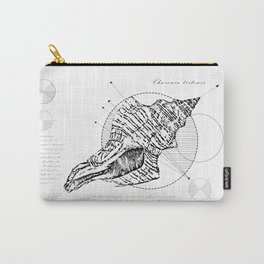 Geometry of a Charonia tritonis Carry-All Pouch