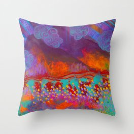 Sonoran Seasons Throw Pillow