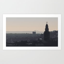 Cork at Dusk Art Print