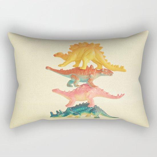 Dinosaur Antics Rectangular Pillow
