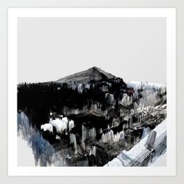 Tokyo in the Ice Age no. 3 Art Print