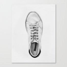 Sneaker (right) Canvas Print