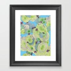 Reef #3.5 Framed Art Print
