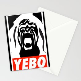 YEBO WARRIOR Stationery Cards