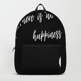 Happiness Is The Way Yin Yang Symbol Gifts Backpack