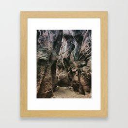 Wandering in the Gulch Framed Art Print