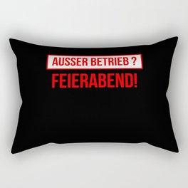 Out Of Order Patience Is Broken Feierabenb Rectangular Pillow