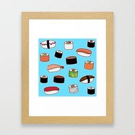Sushi Love Framed Art Print