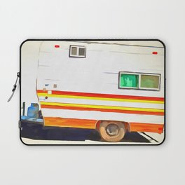 Vintage Camping Trailer Pop Laptop Sleeve