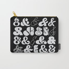 25 Ampersands Carry-All Pouch