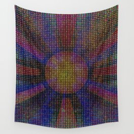 Surya Invocation (Sun) - Magick Square Yantra Tantra Wall Tapestry