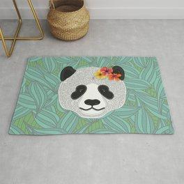 Tropical Panda Rug
