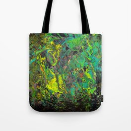 Abstract Distressed #2 Tote Bag