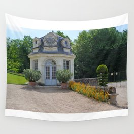 Storybook Building Wall Tapestry