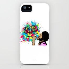 Aretha iPhone Case