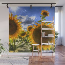 Sunflowers Of Summer Wall Mural
